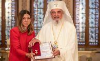 """Simona Halep a primit cea mai inalta distinctie din partea Patriarhiei Romane: """"Sper sa inspir copiii sa-mi calce pe urme"""" FOTO"""