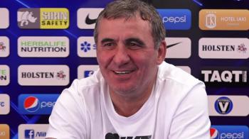 """""""Dan a incercat sa-i umfle pe cei de la Astana, dar calificarea e normala! Speram sa trecem si noi de belgieni!"""" Declaratiile lui Hagi"""