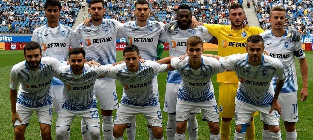 CRAIOVA - SABAIL 3-2 FINAL   Oltenii se califica in turul 2 EUROPA LEAGUE dupa un meci nebun