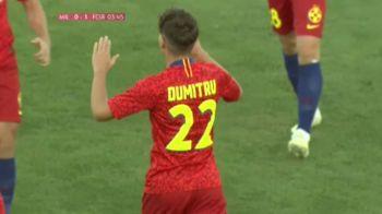 MILSAMI ORHEI - FCSB | Cristian Dumitru, al doilea cel mai tanar marcator din istoria FCSB! Singurul fotbalist care il depaseste in acest top