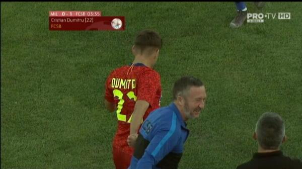 GOL FCSB | Cristian Dumitru, gol la debut in cupele europene