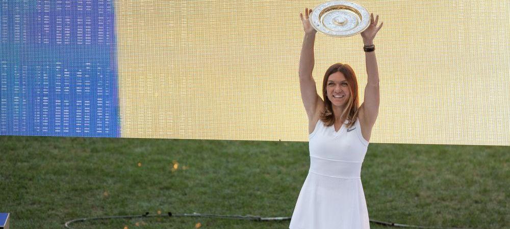 Simona Halep duce trofeul Wimbledon pe Litoral. Defilare cu autobuzul descoperit si intalnire cu fanii in Constanta!