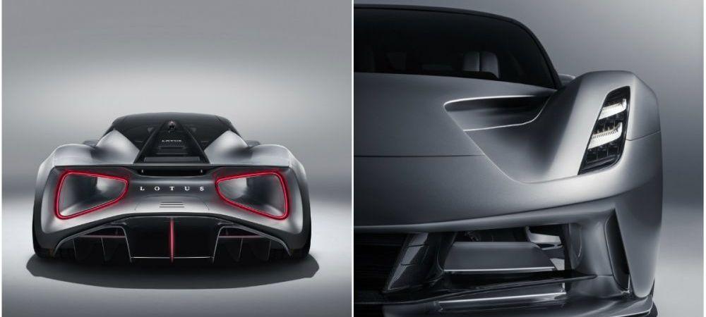 Lotus a lansat cea mai PUTERNICA masina din lume! Cum arata Evija, bolidul ELECTRIC de 2 milioane euro. FOTO