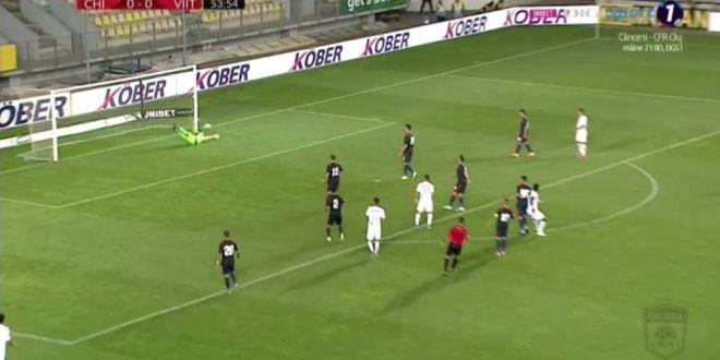CHINDIA - FC VIITORUL 0-1. Echipa lui Hagi, pe primul loc fara gol primit!  Eric a marcat unicul gol | HERMANNSTADT - GAZ METAN 0-2. Gazdele au avut 2 eliminari