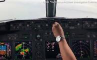 Imagini terifiante din cabina unui Boeing 737 prabusit in Pacific. Ce a strigat co-pilotul