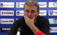 """""""Unii s-au plimbat pe la U21 si inca sunt cu mintea p-acolo! Mi-a cerut schimbare in minutul 60. L-am lasat sa sufere!"""" Hagi, suparat pe jucatori dupa 1-0 cu Chindia"""