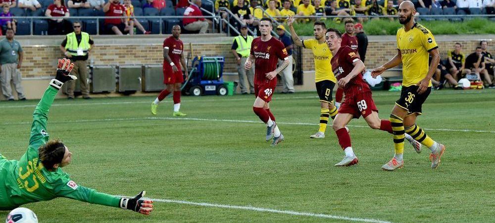 Liverpool a pierdut SUPER amicalul cu Dortmund: 2-3! AICI VIDEO cu golurile marcate in meciul de la Indiana