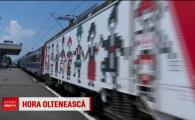 """Oltenii sfideaza ghinionul! Au mers din nou cu trenul la Bucuresti, pentru derby-ul cu Dinamo: """"Sa fie 3-2, ca pana acum!"""""""
