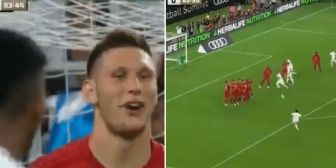 Hai incearca, sa te vedem!  Aroganta unui jucator de la Bayern fata de pustiul de 50 de milioane al Realului! Executia ce a urmat i-a inchis gura