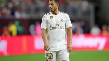 Nu e gluma! Motivul incredibil pentru care Hazard a jucat cu numarul 50 in meciul sau de debut la Real Madrid! Ce numar va avea in sezonul urmator