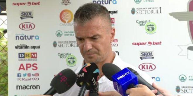 Il astepti pe Tamas la Rapid?  Raspunsul lui Pancu dupa 3-3 cu Hapoel Haifa