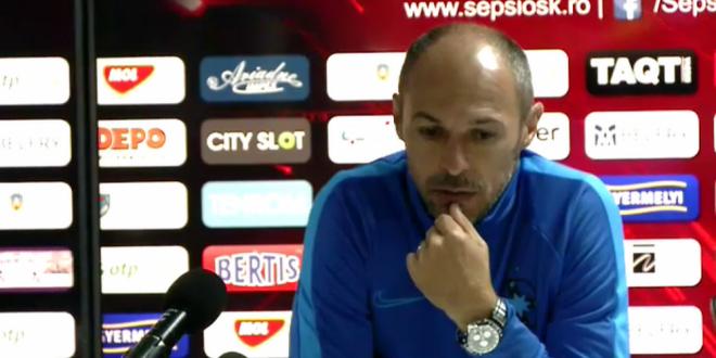 SEPSI - FCSB 0-0   Bogdan Andone a izbucnit dupa egalul de la Sfantu Gheorghe:  Nu se vrea performanta sau sunt alte interese!  Ce l-a nemultumit