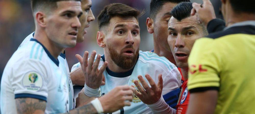 Cat va fi Messi suspendat din fotbalul international! Starul argentinei si-a aflat pedeapsa dupa scandalul de la Copa America; argentinienii au amenintat cu mutarea in Europa