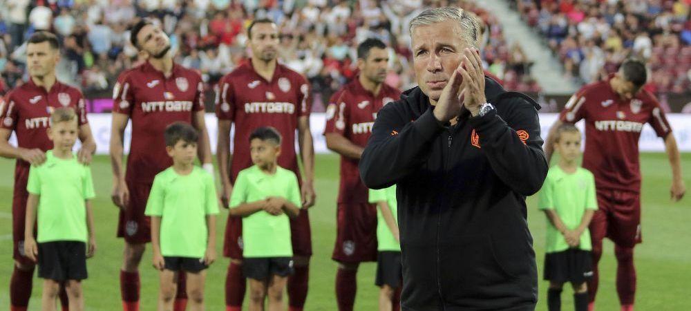 CFR CLUJ - MACCABI TEL AVIV 1-0 | Ce au vorbit clujenii in vestiar la pauza! Planul bine pus la punct al lui Petrescu