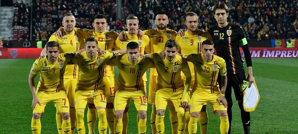 Nationala Romaniei coboara in clasamentul FIFA! Cine conduce si cum stau adversarele din preliminariile EURO 2020