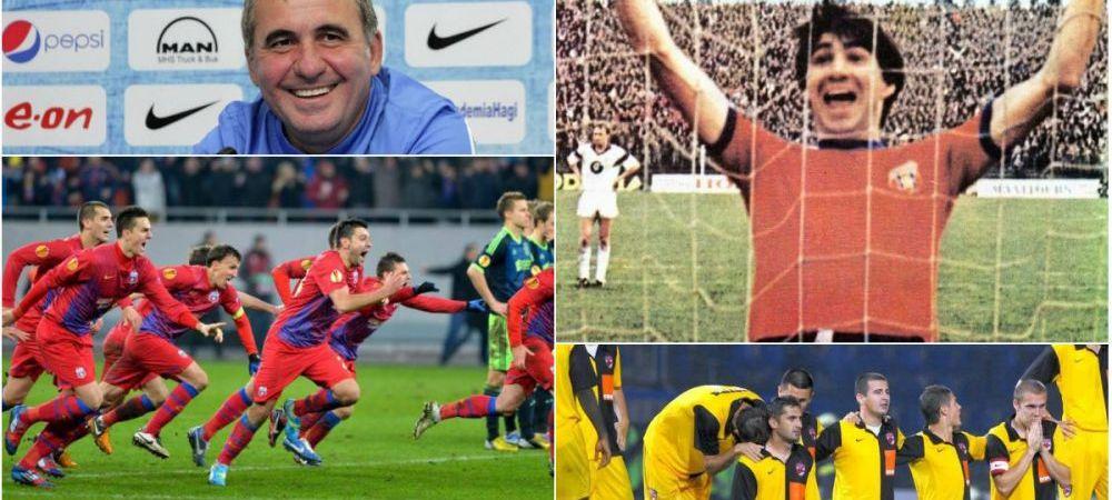 Exista Viitor dupa 3-6 la Gent? 10 meciuri si 10 reveniri fantastice ale romanilor in Europa! Partidele pe care Hagi le poate arata tinerilor sai