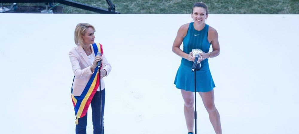 Esplanada Simona Halep la Bucuresti! Gabriela Firea vrea o strada dedicata campioanei de la Wimbledon