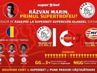 (P) Castiga Razvan Marin primul Supertrofeu cu Ajax?