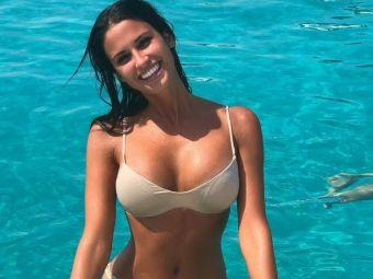 """GALERIE FOTO   Cea mai sexy fana a lui Juventus a incins internetul! E pasionata de sport si a facut senzatie pe plajele din Dubai! """"Inimea mea bate doar pentru Juve"""""""