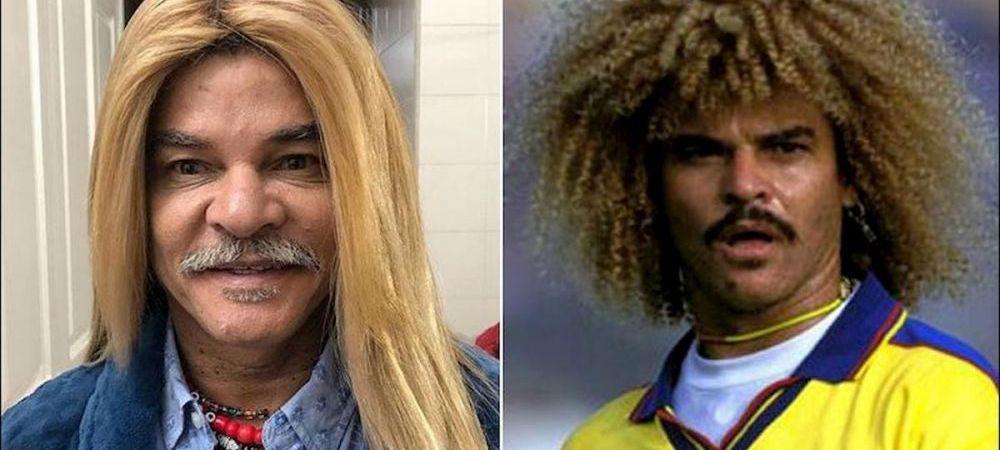 """Carlos Valderrama, schimbare incredibila de look: """"Femeile sunt invidioase pe parul tau!"""" FOTO"""
