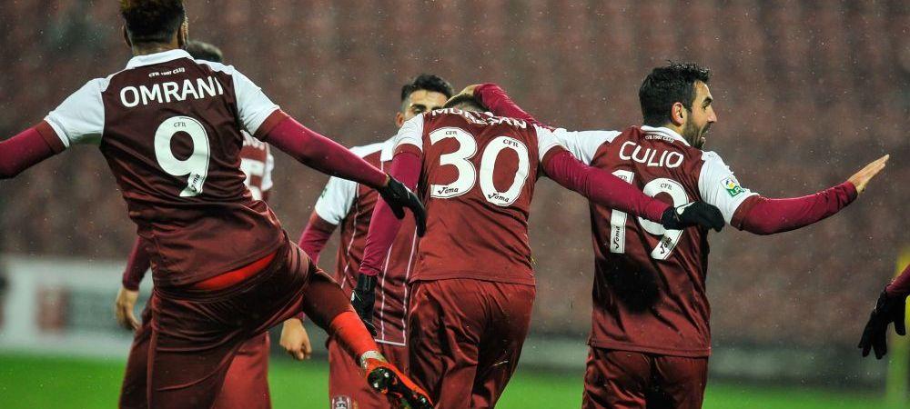 CFR - DINAMO 1-0! Ardelenii castiga din penalty si urca pe primul loc! DEZASTRU TOTAL la Dinamo: 8 goluri primite in 3 meciuri si ultima pozitie in clasament