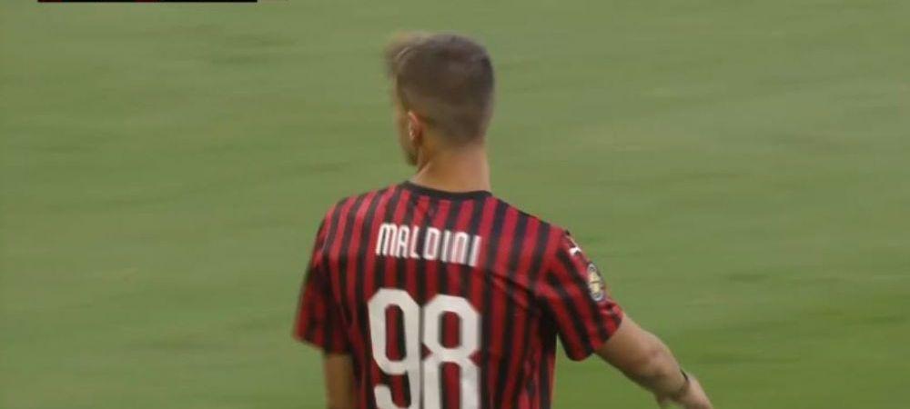 """""""Diavol"""" din tata-n fiu! Al treilea membru al """"Dinastiei"""" Maldini a debutat pentru AC Milan"""