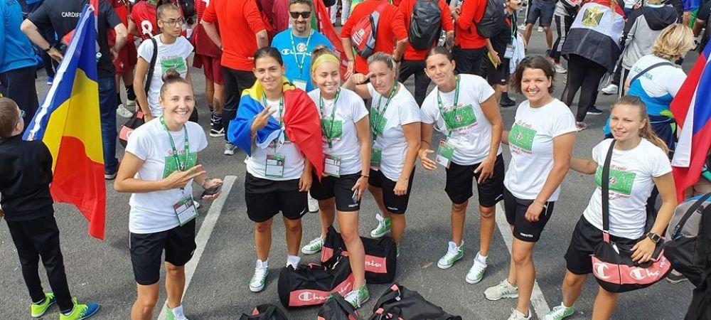 Echipa feminina a Romaniei a batut tot la Homeless World Cup | FOTO