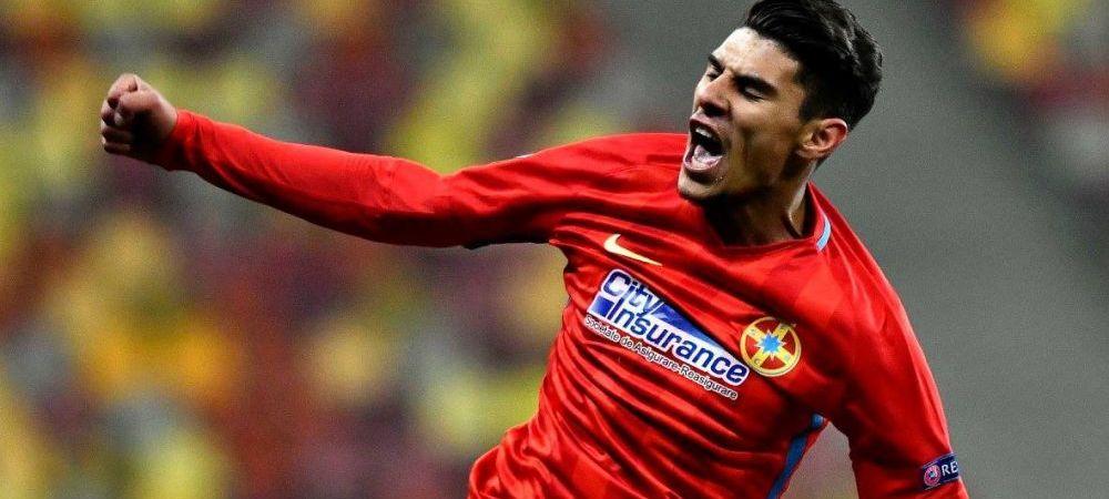 OFERTA de 8 milioane de euro pentru Coman pe care Becali a refuzat-o fara sa clipeasca! Super clubul din Europa care il dorea pe jucatorul FCSB