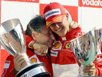 Michael Schumacher face progrese in recuperare si se uita la curse de Formula 1! Cine a facut anuntul URIAS