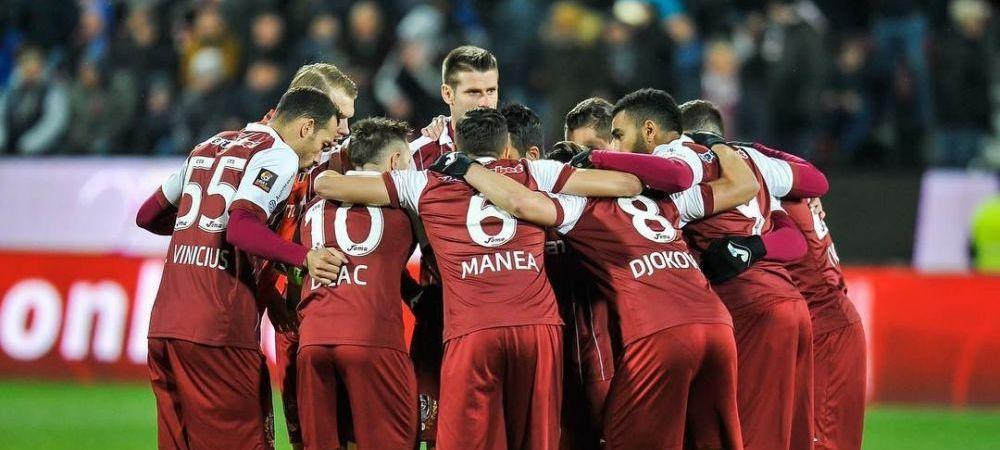 "MACCABI - CFR 2-2   ""Campionii, campionii, campionii!"" Imagini din vestiar: cum au sarbatorit jucatorii lui Petrescu   VIDEO"