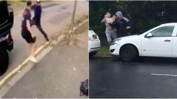 O noua scena SOC in Londra! Dupa Ozil, hotii au atacat un fost luptator de MMA! Cum a reactionat luptatorul. FOTO
