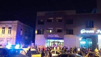 CRAIOVA - HONVED 19.15 | 50 de fani maghiari au ajuns la Craiova si au provocat incidente in centrul orasului! Fanii echipei lui Mititelu, acuzati ca au provocat haos