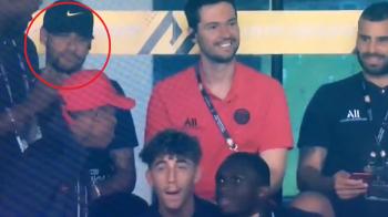 """""""Poker face"""": reactie ULUITOARE a lui Neymar dupa golul de cinci stele inscris de Di Maria in Supercupa Frantei! VIDEO"""