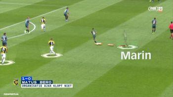 Criticat de Van Basten, ironizat de fani, scos dupa 68 de minute din teren la meciul cu Vitesse! Ce a facut Razvan Marin in primul meci de campionat la Ajax