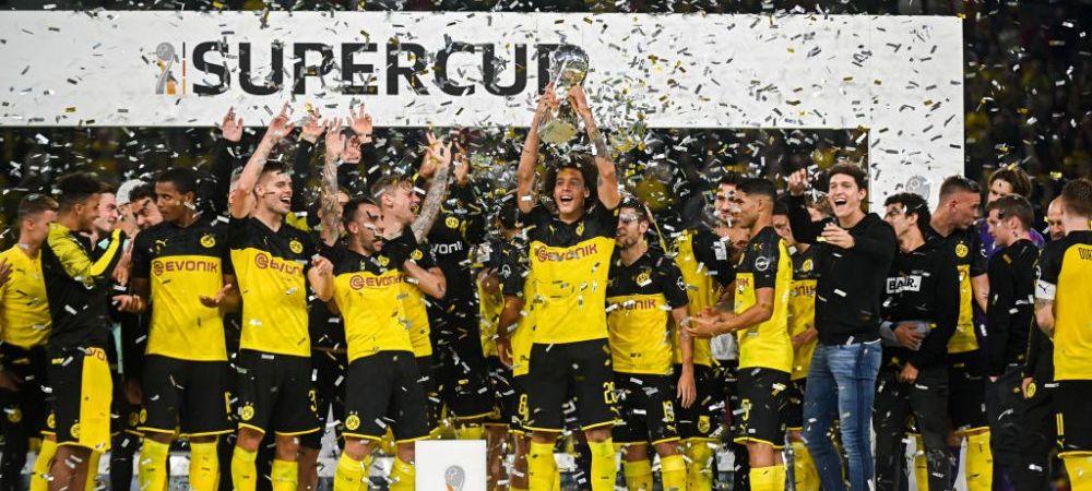 Borussia Dortmund a castigat Supercupa Germaniei in fata lui Bayern! Alcacer si Sancho au marcat intr-un meci FABULOS! VIDEO