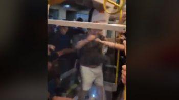 Atentie, IMAGINI DURE! Fanii lui City si Liverpool s-au batut RAU in metrou inaintea Supercupei Angliei