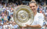 Un nou premiu pentru REGINA de la Wimbledon! Simona Halep, votata jucatoarea lunii iulie in WTA