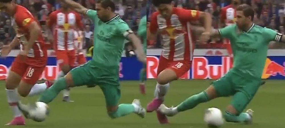 Intrare SOCANTA a lui Sergio Ramos! Era minutul 1 intr-o partida amicala cand a facut ASTA | Hazard a inscris primul gol in tricoul Realului! VIDEO