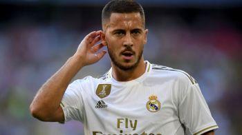 """Primul GOLAZO al lui Hazard la Real! Belgianul a inscris cu o superexecutie si le-a dat peste nas celor care au spus ca e """"grasut"""". VIDEO"""