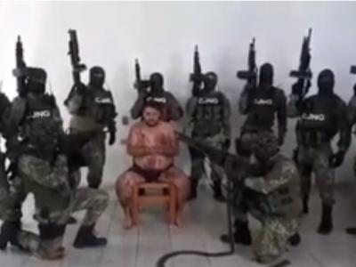 Socant! Ultimele clipe ale unui traficant mexican, filmate de calai! Barbatul care a dat ordinul de executie este un fost politist!