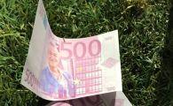 A aparut bancnota de 500 de euro cu fata lui BECALI pe ea! Protest INCREDIBIL inaintea meciului cu Mlada Boleslav!!! Ce s-a intamplat in tribuna