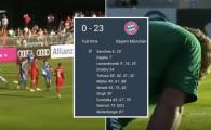 "Bayern nu stie ce inseamna ""AMICAL"": 23-0 inaintea noului sezon. Tolisso, performanta rara!"
