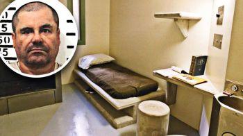 Prima fotografie cu celula in care El Chapo isi va petrece tot restul vietii! Traficantul sta 23 de ore pe zi inchis