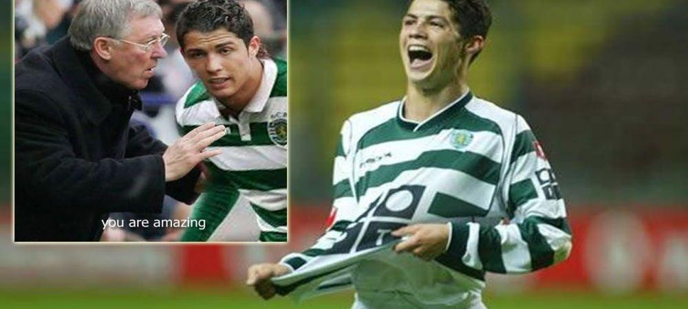 "Cristiano Ronaldo despre seara in care i-a UIMIT pe cei de la Manchester United: ""Alex Ferguson a venit dupa meci in vestiar dupa mine"""