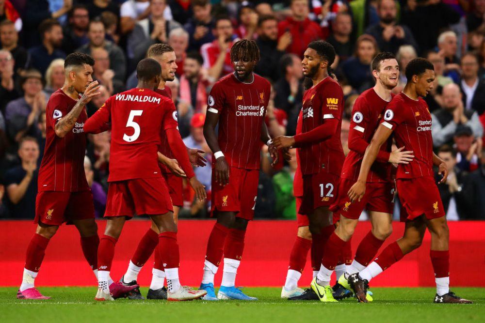 Noul sezon de Premier League a inceput cu un meci de gala! SHOW TOTAL oferit de Liverpool: echipa lui Klopp nu a avut mila de Norwich
