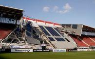 S-a prabusit acoperisul! Imagini socante in Olanda, pe stadionul unei echipe care a jucat in cupele europene! FOTO