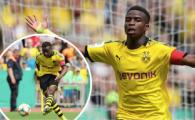 Poate fi mai tare ca Messi si Ronaldo! FABULOS: Dortmund si-a trimis pustiul de 14 ani la echipa U19, iar acesta si-a demolat adversarii. Cate goluri a dat
