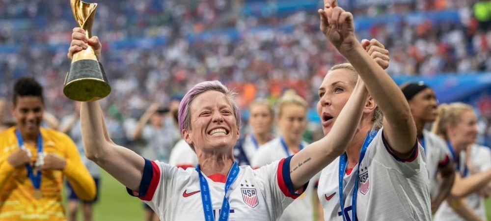Cati bani castiga o campioana mondiala la fotbal! Salariul lui Megan Rapinoe, capitanul si vedeta SUA, dezvaluit: e mai mic decat al jucatorilor de la Viitorul ori Dinamo