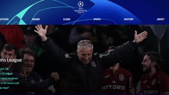 Pagina Champions League se deschide cu noaptea MAGICA a CFR-ului la Glasgow! Imaginea care face azi inconjurul lumii