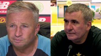 """Dan Petrescu, ATAC DUR la adresa lui Gica Hagi la conferinta de la Glasgow! Antrenorul de la Cluj a rabufnit: """"Cei care vorbesc mananca ce mananca!"""""""